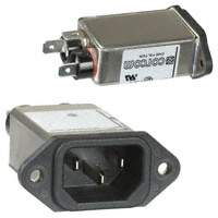 TE Connectivity Corcom Filters - 1-6609016-1 - PWR ENT RCPT IEC320-C14 PANEL QC
