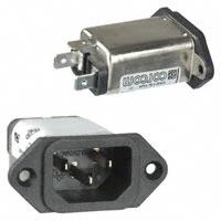TE Connectivity Corcom Filters - 6EEA1 - PWR ENT RCPT IEC320-C14 PANEL QC