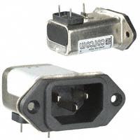 TE Connectivity Corcom Filters - 1-6609008-5 - PWR ENT RCPT IEC320-C14 PNL SLDR