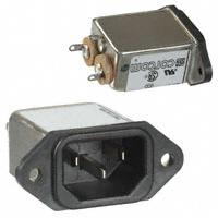 TE Connectivity Corcom Filters - 6609014-9 - PWR ENT RCPT IEC320-C14 PANEL QC