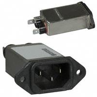 TE Connectivity Corcom Filters - 15EJT1 - PWR ENT RCPT IEC320-C14 PANEL QC