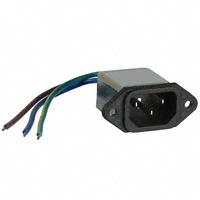 TE Connectivity Corcom Filters - 2-6609006-7 - PWR ENT RCPT IEC320-C14 PNL WIRE