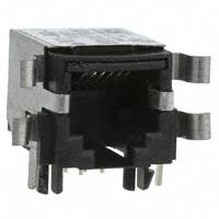 TE Connectivity Corcom Filters - RJ11-6N3-B - CONN MOD JACK 6P6C R/A SHIELDED