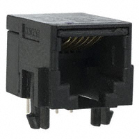 TE Connectivity Corcom Filters - RJ11-6N-B - CONN MOD JACK 6P6C R/A UNSHLD