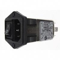 TE Connectivity Corcom Filters - 10CFE1 - PWR ENT MOD RCPT IEC320-C14 PNL