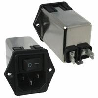TE Connectivity Corcom Filters - 10CHE1 - PWR ENT MOD RCPT IEC320-C14 PNL