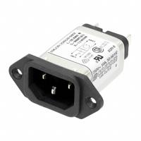 TE Connectivity Corcom Filters - 10EAH1 - PWR ENT RCPT IEC320-C14 PANEL QC
