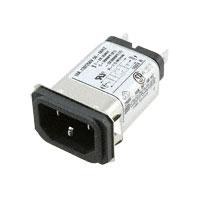 TE Connectivity Corcom Filters - 10EAS1 - PWR ENT RCPT IEC320-C14 PANEL QC
