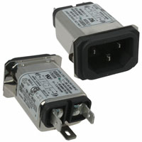 TE Connectivity Corcom Filters - 10EBS1 - PWR ENT RCPT IEC320-C14 PANEL QC