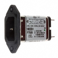 TE Connectivity Corcom Filters - 1-6609001-0 - PWR ENT RCPT IEC320-C14 PANEL QC