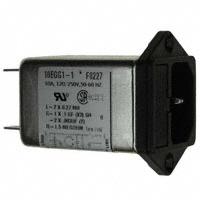 TE Connectivity Corcom Filters - 3-1609115-4 - PWR ENT MOD RCPT IEC320-C14 PNL