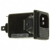TE Connectivity Corcom Filters - 1609116-6 - PWR ENT MOD RCPT IEC320-C14 PNL