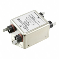 TE Connectivity Corcom Filters - 1-1609034-3 - LINE FILTER 250VDC/VAC 10A CHASS