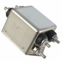 TE Connectivity Corcom Filters - 1-1609034-6 - LINE FILTER 250VDC/VAC 10A CHASS