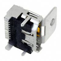 TE Connectivity AMP Connectors - 1-1747981-1 - CONN RECPT HDMI SMT R/A W/FLNG