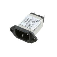 TE Connectivity Corcom Filters - 15EEB1 - PWR ENT RCPT IEC320-C14 PANEL QC