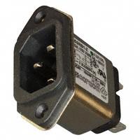 TE Connectivity Corcom Filters - 6609987-8 - PWR ENT RCPT IEC320-C14 PANEL QC