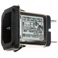 TE Connectivity Corcom Filters - 2-6609987-1 - PWR ENT RCPT IEC320-C14 PANEL QC