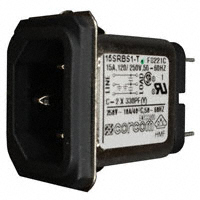 TE Connectivity Corcom Filters - 2-6609987-2 - PWR ENT RCPT IEC320-C14 PANEL QC