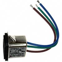 TE Connectivity Corcom Filters - 3-6609987-2 - PWR ENT RCPT IEC320-C14 PNL WIRE