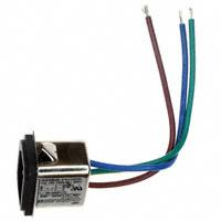 TE Connectivity Corcom Filters - 3-6609987-3 - PWR ENT RCPT IEC320-C14 PNL WIRE