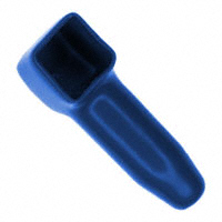 TE Connectivity AMP Connectors - 1651003-4 - INSULATION BOOT #4/#8 BLUE