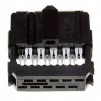 TE Connectivity AMP Connectors - 1658622-1 - CONN IDC SKT 10POS W/POL GOLD