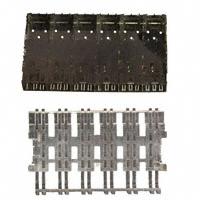 TE Connectivity AMP Connectors - 1658939-1 - CONN SFP CAGE 1X6 W/LIGHT PIPE