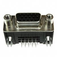 TE Connectivity AMP Connectors - 1734530-3 - CONN DSUB HD RCPT 15POS R/A SLDR