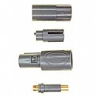 TE Connectivity AMP Connectors - 1877845-9 - PLUG 5POS 0 DEG GRY/GRAY 2.7-3.9