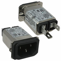 TE Connectivity Corcom Filters - 1EAS1 - PWR ENT RCPT IEC320-C14 PANEL QC