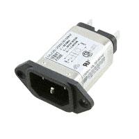 TE Connectivity Corcom Filters - 1EBH1 - PWR ENT RCPT IEC320-C14 PANEL QC