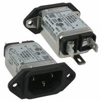 TE Connectivity Corcom Filters - 6609000-1 - PWR ENT RCPT IEC320-C14 PANEL QC