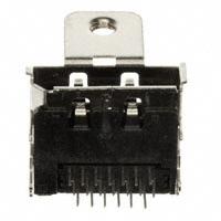 TE Connectivity AMP Connectors - 2040210-1 - CONN RCPT R/A W/FLANGE T/H