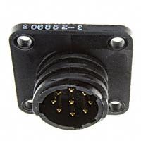 TE Connectivity AMP Connectors - 206852-2 - CONN CPC SER 2 RCPT 9POS SIZE 11