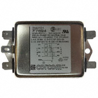 TE Connectivity Corcom Filters - 20AYO1 - LINE FILTER 20A CHASSIS MOUNT