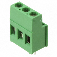 TE Connectivity AMP Connectors - 282857-3 - TERM BLOCK 3POS SIDE ENT 5.08MM
