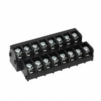 "TE Connectivity AMP Connectors - 3-1437663-4 - CONN BARRIER STRP 16CIRC 0.375"""