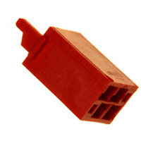 TE Connectivity AMP Connectors - 338095-4 - CONN HOUSING 4POS .050 RED