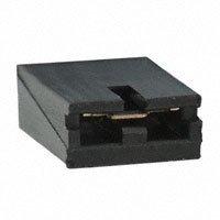 TE Connectivity AMP Connectors - 382811-8 - SHUNT, ECON, PHBR 5AU, BLACK