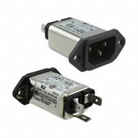 TE Connectivity Corcom Filters - 3EAH1 - PWR ENT RCPT IEC320-C14 PANEL QC