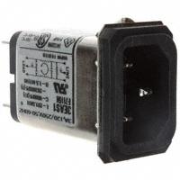 TE Connectivity Corcom Filters - 6609005-7 - PWR ENT RCPT IEC320-C14 PANEL QC