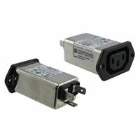 TE Connectivity Corcom Filters - 3EBF1 - PWR ENT RCPT IEC320-C14 PANEL QC