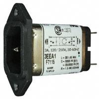 TE Connectivity Corcom Filters - 3EEA1 - PWR ENT RCPT IEC320-C14 PANEL QC
