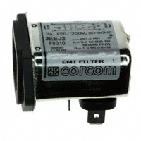 TE Connectivity Corcom Filters - 3EEJ2 - PWR ENT RCPT IEC320-C14 PANEL QC
