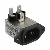 TE Connectivity Corcom Filters - 6609015-4 - PWR ENT RCPT IEC320-C14 PANEL QC