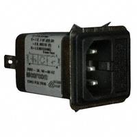 TE Connectivity Corcom Filters - 6609117-3 - PWR ENT MOD RCPT IEC320-C14 PNL