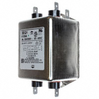 TE Connectivity Corcom Filters - 3EQ1 - LINE FILTER 250VAC 3A CHASS MNT
