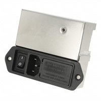 TE Connectivity Corcom Filters - 6609131-7 - PWR ENT MOD RCPT IEC320-C14 PNL