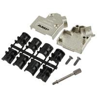 TE Connectivity AMP Connectors - 5-1478763-1 - CONN BACKSHELL 9P METAL 45DEG